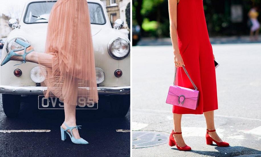 Sapato colorido: As cores de sapato da Primavera 2018 - Vestindo Autoestima